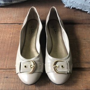 LifeStride Flats Tan Comfort Fit